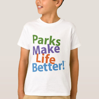 Parks Make Life Better! Official Logo T-Shirt