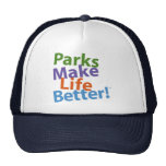 Parks Make Life Better! Official Logo Trucker Hat