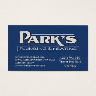 ParksPlumbing II Business Card