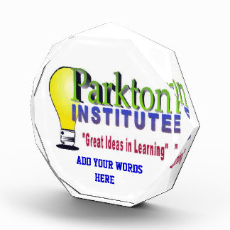 PARKTON INSTITUTE AWARD
