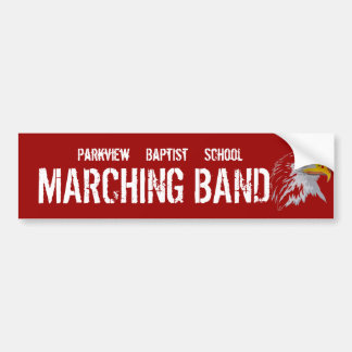 Parkview Baptist School Band Bumper Stickers