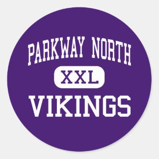 Parkway North - Vikings - High - Saint Louis Stickers