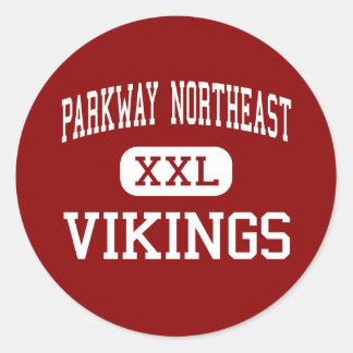 Parkway Northeast - Vikings - Middle - Creve Coeur Stickers