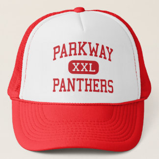 Parkway - Panthers - High - Bossier City Louisiana Trucker Hat