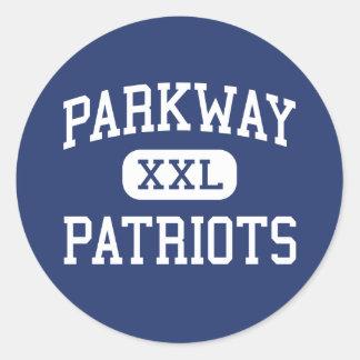 Parkway Patriots Middle La Mesa California Stickers