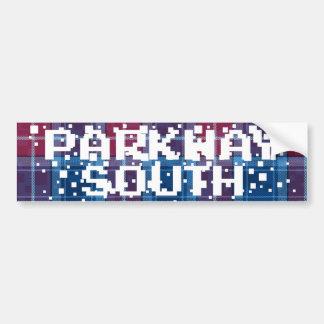 PARKWAY SOUTH INVADER CAR BUMPER STICKER
