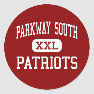 Parkway South - Patriots - Middle - Ballwin Stickers