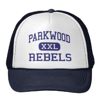Parkwood - Rebels - High - Monroe North Carolina Trucker Hat
