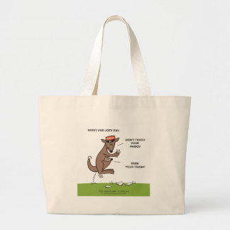 Parky & Joey Large Tote Bag