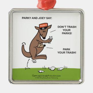 Parky & Joey Ornaments