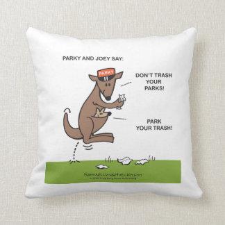 Parky & Joey pillow