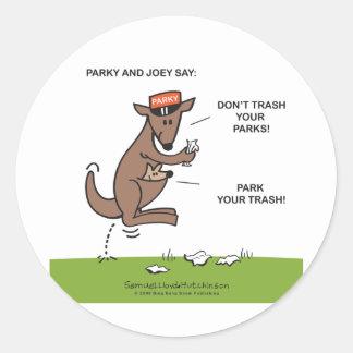 Parky & Joey Sticker