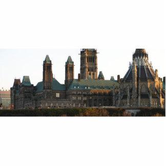 Parlament Hill`s Backside View Cutout