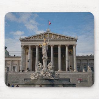 Parlament, Wien Österreich Mouse Pad