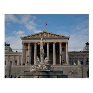 Parlament, Wien Österreich Postcard