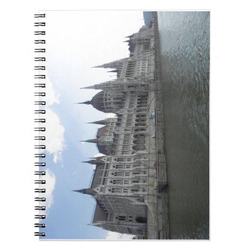 Parlamento Budapest Cuadernos