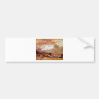 Parlerre d'eau a Versailles by Richard Parkes... Car Bumper Sticker