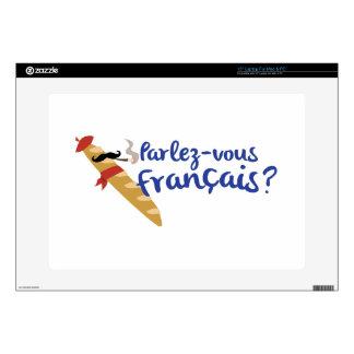 """Parlez-vous Franais? 15"""" Laptop Skins"""