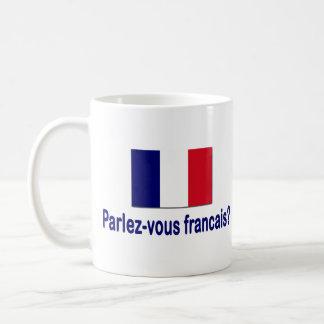 Parlez-vous francais? coffee mug