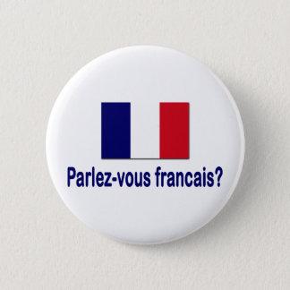 Parlez-vous francais? pinback button