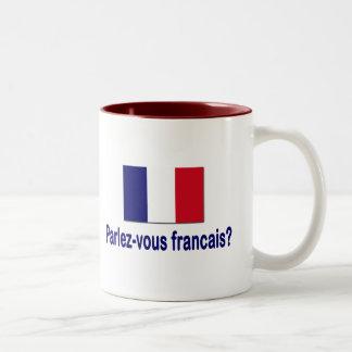 Parlez-vous francais? Two-Tone coffee mug