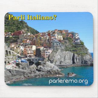 Parli Italiano? Cinque Terre, Italy Mouse Pad