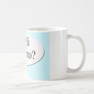 Parli italiano? Do you speak Italian? Coffee Mug