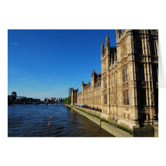 Parliament and the River Thames Card