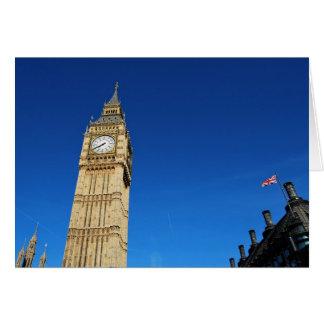 Parliament Big Ben and Flag.JPG Card