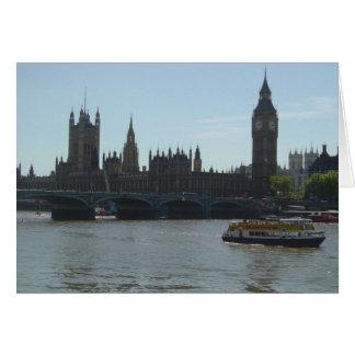 Parliament & Big Ben Card