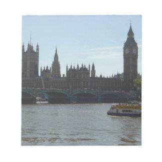 Parliament & Big Ben Scratch Pads