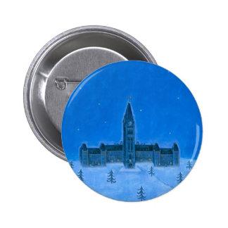 Parliament Buildings Ottawa Christmas Pin