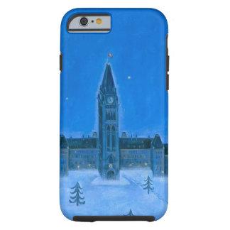 Parliament Buildings Ottawa Christmas Tough iPhone 6 Case