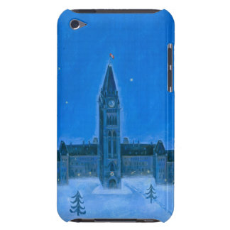 Parliament Buildings Ottawa Christmas iPod Case-Mate Cases