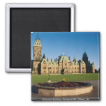 Parliament Buildings, Parliament Hill, Ottawa, Ont Refrigerator Magnets