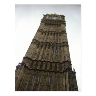 Parliament Clock Tower--Mouse-Eye View Postcard