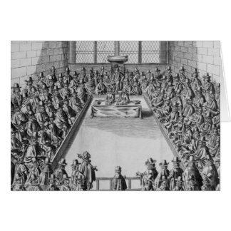 Parliament during the Commonwealth, 1650 Card