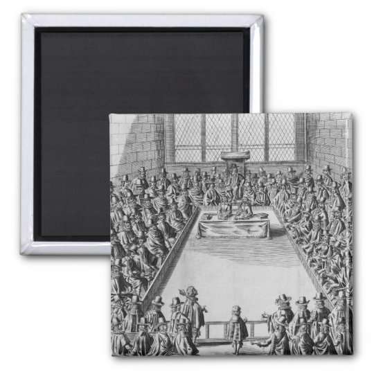 Parliament during the Commonwealth, 1650 Magnet