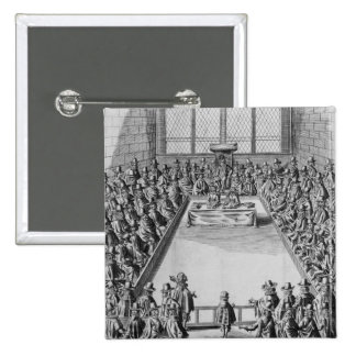 Parliament during the Commonwealth, 1650 Pinback Button