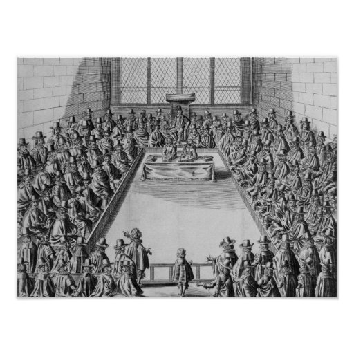Parliament during the Commonwealth, 1650 Poster