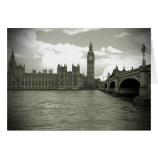 Parliament - Elizabeth Tower - Big Ben Card