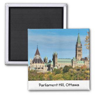 Parliament Hill in Autumn, Ottawa. Refrigerator Magnet