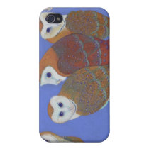 Parliament of Owls - Barn Owls iPhone 4 Cover