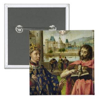 Parliament of Paris Altarpiece Button