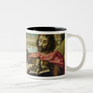 Parliament of Paris Altarpiece Two-Tone Coffee Mug