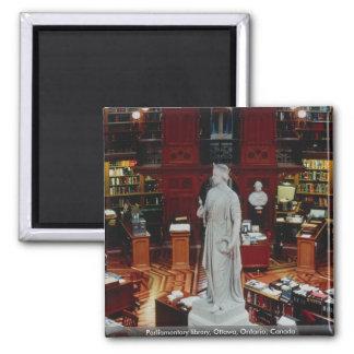Parliamentary library, Ottawa, Ontario, Canada Fridge Magnet