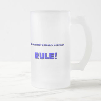 Parliamentary Research Assistants Rule Coffee Mug