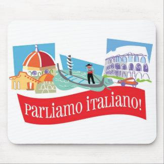 Parliamo Italiano Mousepad
