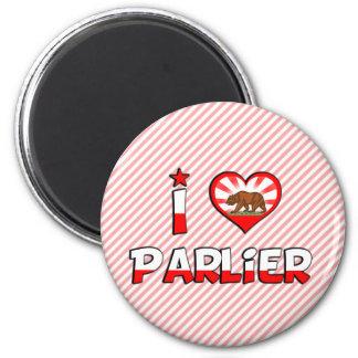 Parlier, CA 2 Inch Round Magnet