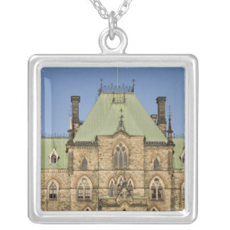 Parliment Building in Ottawa, Ontario, Canada 2 Silver Plated Necklace